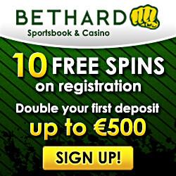 bethard casino no deposit bonus