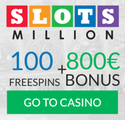 slotsmillion welcome bonus