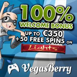 vegasberry welcome bonus