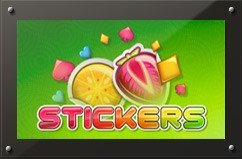 Stickers online slots