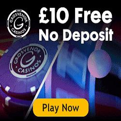 grosvenor bonus nodeposit casino