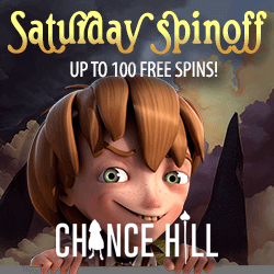 Chancehill welcome bonus 100 free spins
