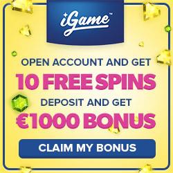 igame no deposit starburst free spins