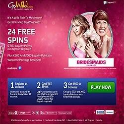 bridesmaids gowild free spins no deposit