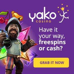 yako casino free spins no deposit