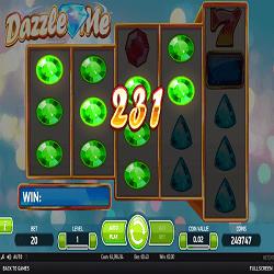 dazzle me netent slot