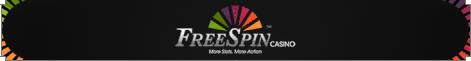 FreeSpin Casino welcome bonus
