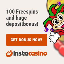 instacasino free spins no deposit 250