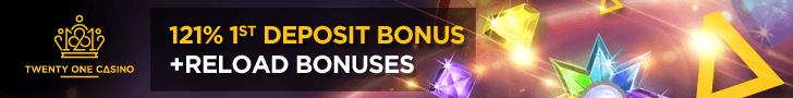 21 Casino free spins no deposit