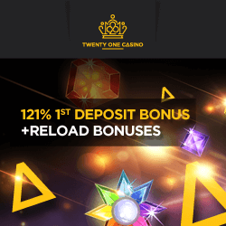 21 Casino no deposit bonus codes