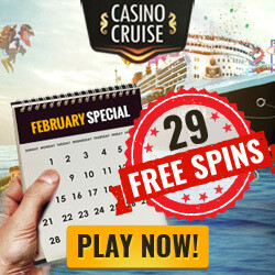 casinocruise february 2016 no deposit free spins