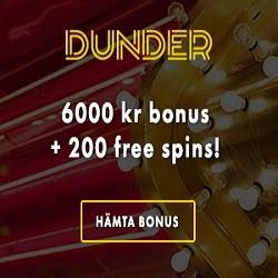 Dunder casino no deposit bonus codes