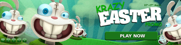 casinoluck easter eggs march 2016 free spins no deposit