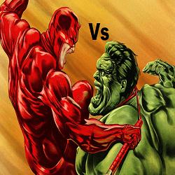 The Hulk Slot vs The Daredevil Slot