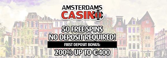 amsterdams casino exclusive bonus