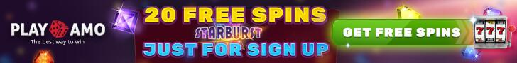 playAmo free spins no deposit