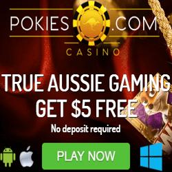 pokies casino no deposit bonus codes