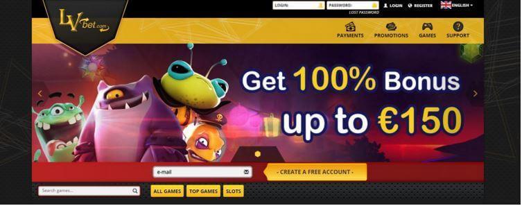 lvbet casino screenshot