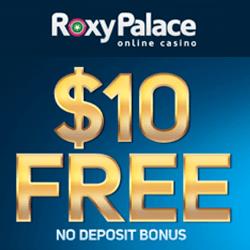 roxy palace online casino no deposit bonus codes
