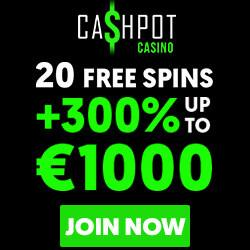 cashpot casino no deposit bonus codes