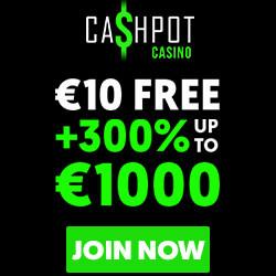cashpot free cash no deposit bonus codes