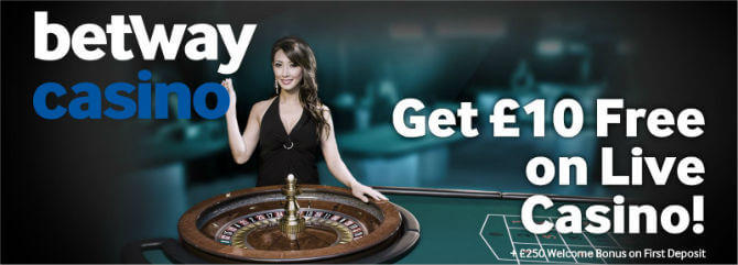 betway casino no deposit codes
