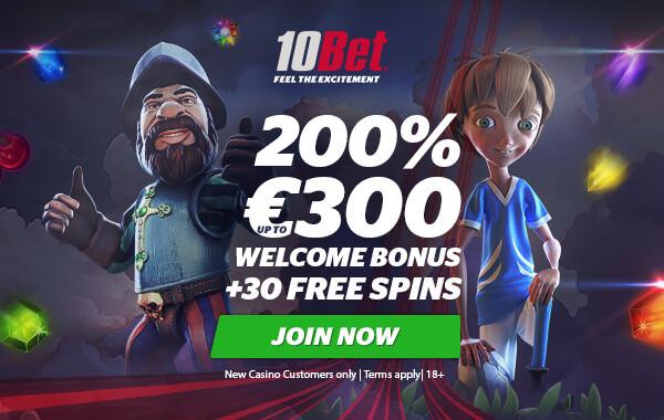 10bet-casino-exclusive-welcome-bonus