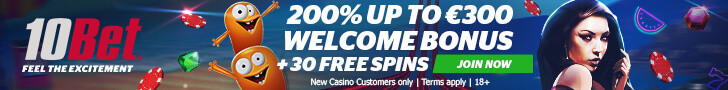 10bet-casino-frees-spins-no-deposit
