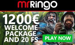 MrRingo Casino No Deposit Bonus