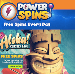powerspins casin no deposit bonus codes