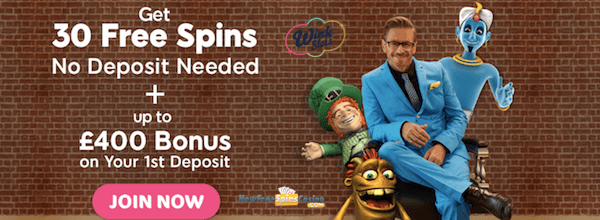 wink slots casino no deposit bonus