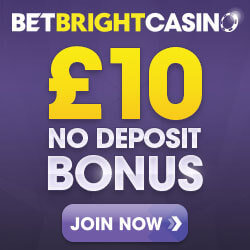betbright casino no deposit bonus codes