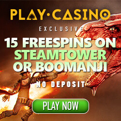 Play.Casino no deposit bonus codes