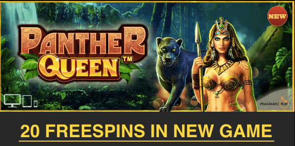 panther queen pragmatic play free spins no deposit