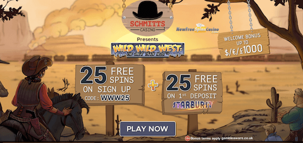 schmitts casino exclusive bonus