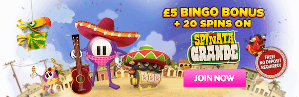 Play Spiñata Grande Slot Online at Casino.com UK