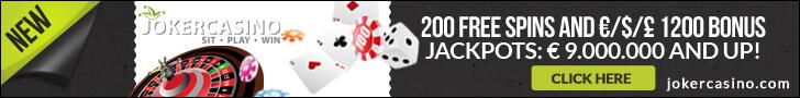 joker casino free spins no deposit