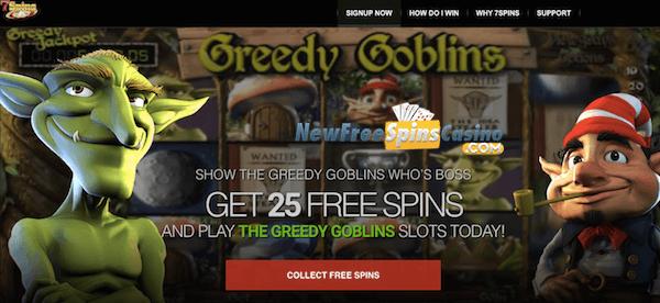 7spins casino no deposit bonus