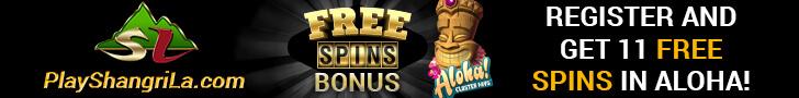 Shangri La Casino free spins no deposit