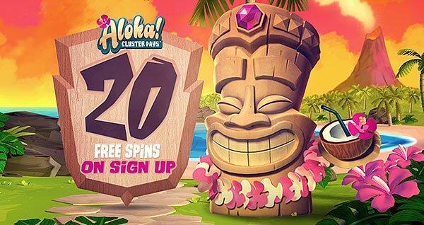 bitstarz aloha cluster pays no deposit free spins