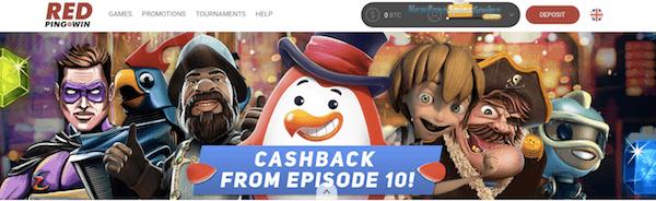 red pingwin casino bonus no deposit