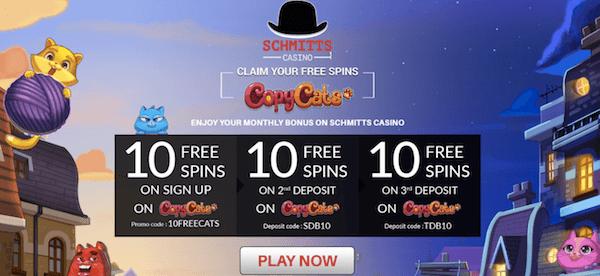 schmitts casino no deposit bonus codes
