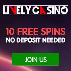 lively casino no deposit bonus codes