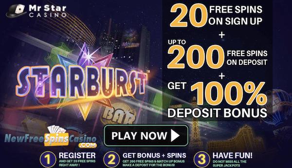 mrstar casino no deposit bonus