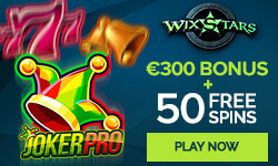 WIXSTARS Casino Exclusive Deposit Bonus