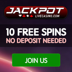 jackpot live casino no deposit bonus codes
