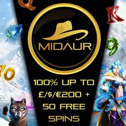midaur casino no deposit bonus codes
