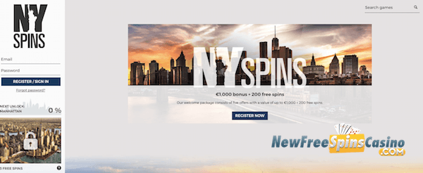 nyspins casino no deposit bonus