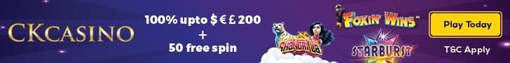 ck casino free spins no deposit
