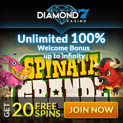 diamond7 casino welcome bonus